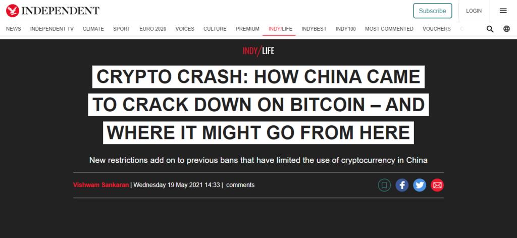 China prohibe bitcoin y criptomonedas