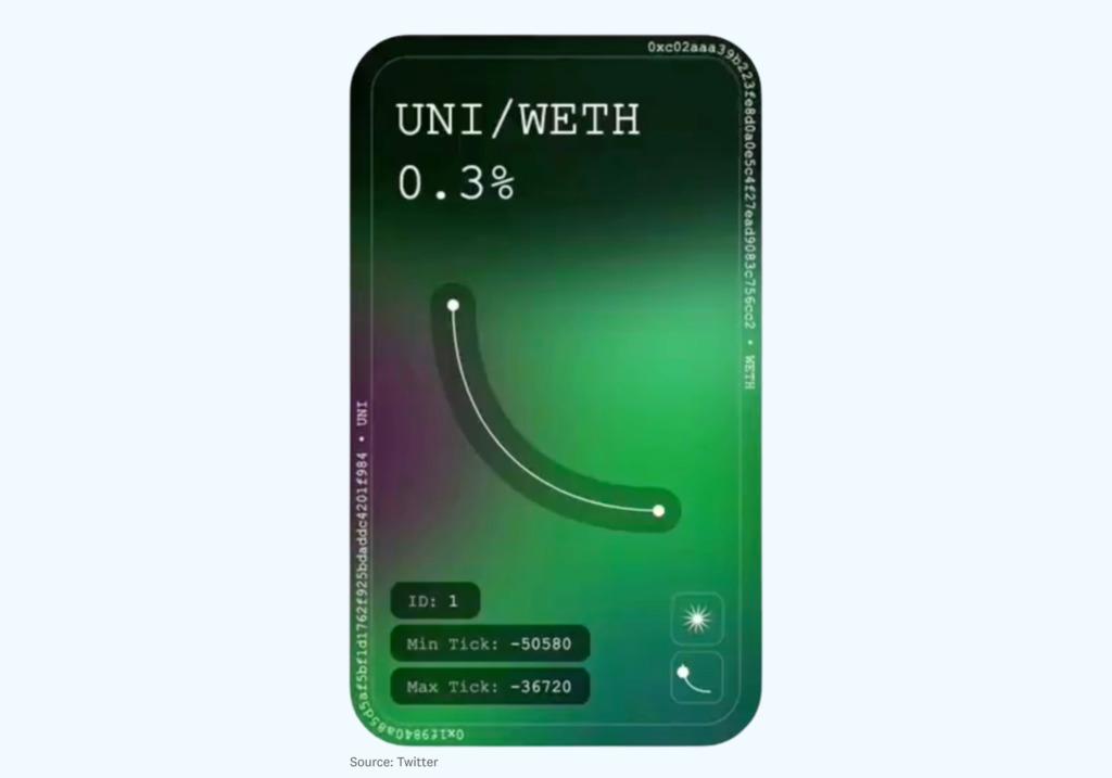 NFT Uniswap V3