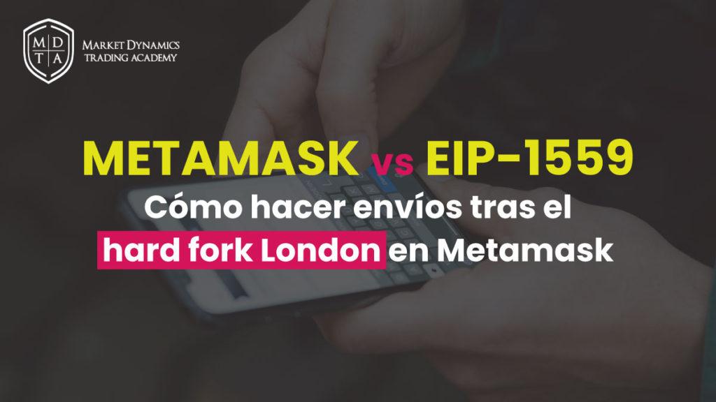 Cómo configurar comisiones mineros en Metamask EIP-1559