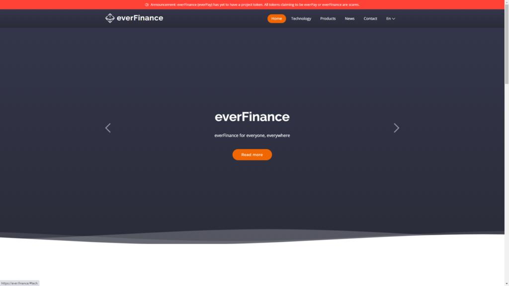 everFinance Token