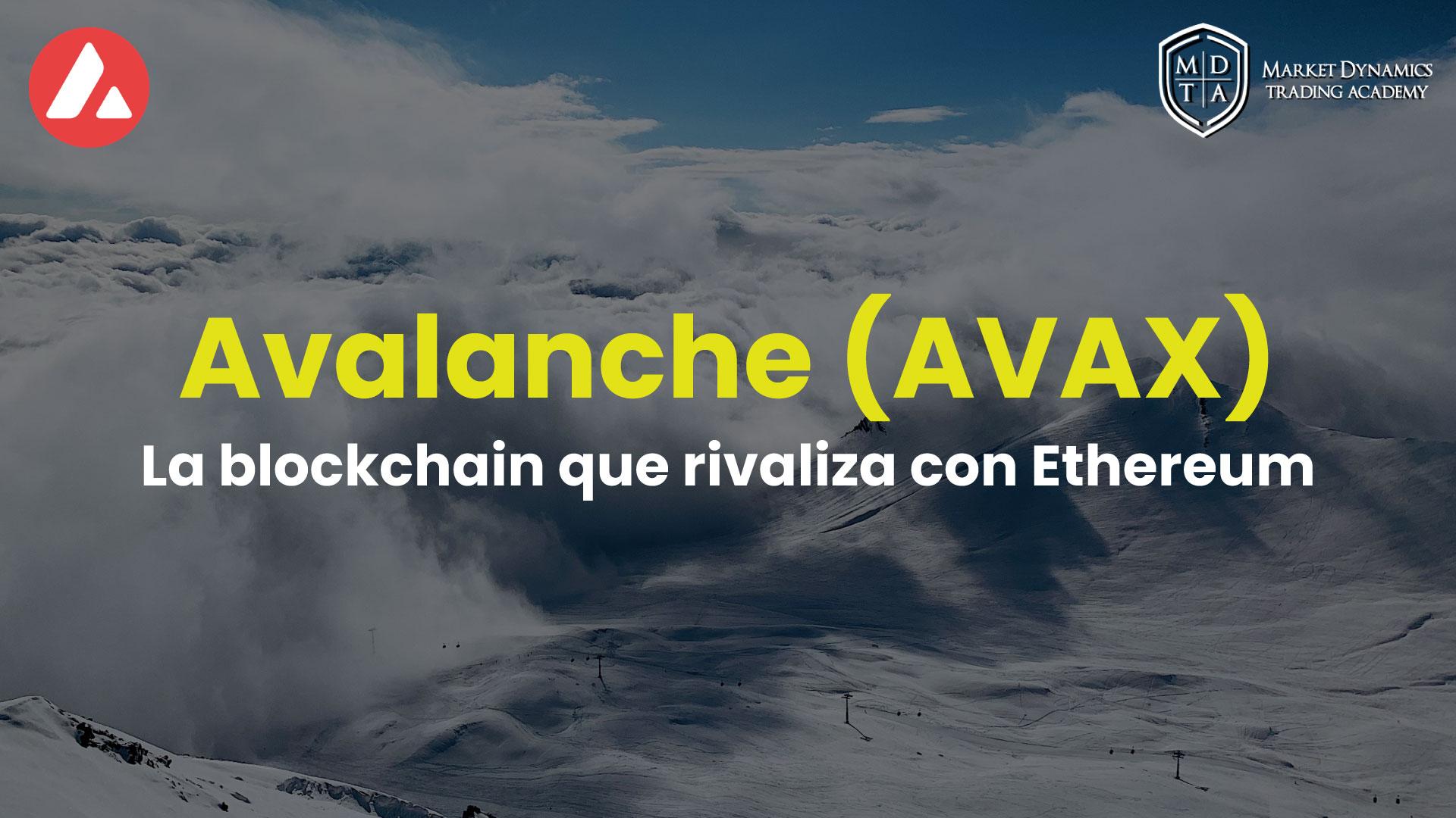 Qué es Avalanche la criptomoneda AVAX